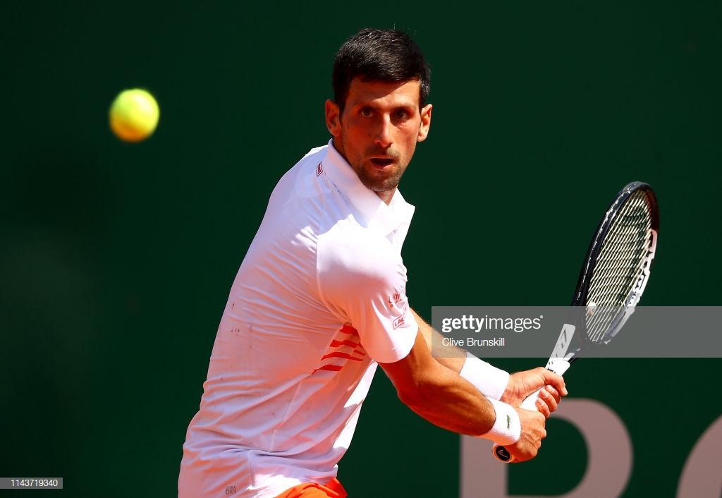 Novak Djokovic , Monte-Carlo, Monaco 2019